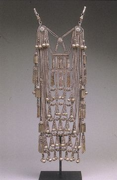 * Thai Wedding Necklace.  Date: ca. 1900 Culture: Thai (Lu Mien Yao peoples). Medium: silver.