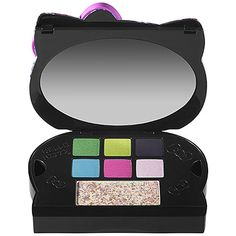 Hello Kitty Tokyo Pop Collection for Spring 2013 – Musings of a Muse Hello Kitty Makeup, I Go Crazy, Pop Collection, Kawaii, Birthday List, Eye Shadow, Eyeshadow Palette, Makeup Looks, Tokyo