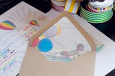 picture envelope liners...but really, I just like everything on this blog.