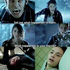 My heart sunk lower and lower when these flashbacks occurred. When it showed Stiles I died like . No no no . Nope . This is not real .
