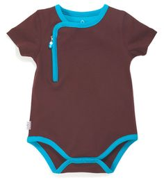 - Soft, rich 100% cotton knit is machine washable - Zip front for easy over head dressing with pinch free placket - Snap crotch for quick diaper changes - Specially packaged in a FREE Zipit gift box 4