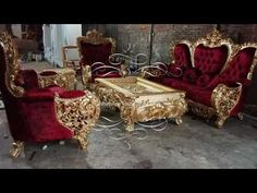 Vintage Look Furniture Furniture Sofa Set, Royal Furniture, Victorian Furniture, Home Decor Furniture, Luxury Furniture, Furniture Makeover, Furniture Design, Baker Furniture, Victorian Sofa