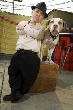 Pit Boss!  Shorty Rossi, and his beloved Hercules, they inspire me.