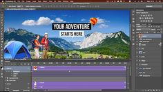 Go beyond still image editing with the 'Create Video Timeline' feature in Photoshop CC 2015. A timeline allows you to animate all the layers in your file using keyframes for position, opacity & more. See the feature in action now with your training subscription.----#adobe #photoshop #cc #creativecloud #animation #timeline #keyframes #totaltraining #elearning #softwaretraining