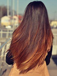 17.Ombre Saç Modeli