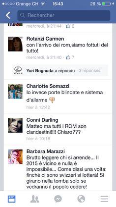 Tutti i rom sono clandestini. Tutti. Senza eccezioni. I rom col passaporto svizzero non sono nemmeno concepibili. (Satira Ticino)