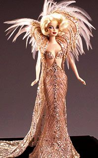 Custom Bob Mackie Barbie -Looks like Marilyn.  I'm going to call her Marilyn.