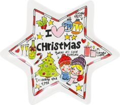 Serve all your Christmas dishes with this Christmas star plate. Complete your christmas table with this plate red heart by Blond-Amsterdam. Christmas Dishes, Christmas Star, Christmas Baby, Blond Amsterdam, Snoopy, Candles, Plates, Stars, Pink