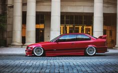This has to be the greatest car ever made Bmw E36 Touring, Bmw Red, Diesel, Bmw Wallpapers, Bmw Classic Cars, Bmw Love, Bmw Series, High Resolution Wallpapers, Bmw Cars