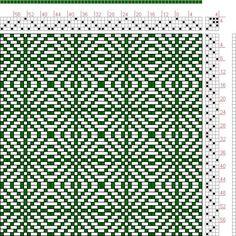 weaving drafts | Hand Weaving Draft: Twill Squares 2, KB Original, 4S, 4T - Handweaving ...