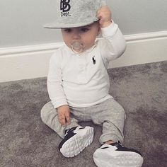57 Ideas For Baby Outfits Swag Toddler Boys Fashion Kids, Little Boy Fashion, Baby Boy Fashion, Toddler Fashion, Fashion Outfits, Baby Boy Swag, Cute Baby Boy, Baby Kind, Baby Baby