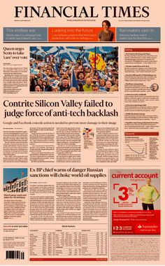 """The Financial Times launches new look """"for the digital age"""""""