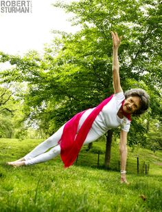 """World's Oldest Yoga Instructors Turns 95. """"Yoga is a dance within…and then something inside you grows so big, it spills out like champagne, that's when you dance on the outside."""" ~ Tao Porchon-Lynch"""