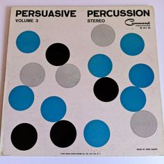 Command All-Stars Persuasive Percussion Volume 3 Vinyl Record LP Stereo 1960 Command Exotica Josef Albers Cover Art by vintagebaronrecords on Etsy