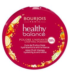 Bourjois Healthy Balance Compact Powder / £8.99 / A unifying powder that evens out and boosts the radiance of your complexion whilst taking care of your skin.  With Asian fruit therapy formula to restore balance to the skin: the Sharon fruit smoothes and moisturises dry areas, whilst Yuzu fruit absorbs excess shine.  Its ultra fine, blendable texture provides a light and undetectable finish on skin