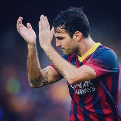 Cesc Fabregas FC Barcelona