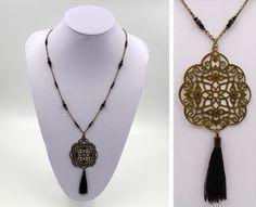 Créations françaises pour femme et enfant Tassel Necklace, Tassels, Creations, Jewelry, Fashion, Kid, Woman, Handicraft, Handmade