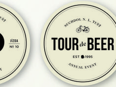 Tour de Beer Mat — Designspiration