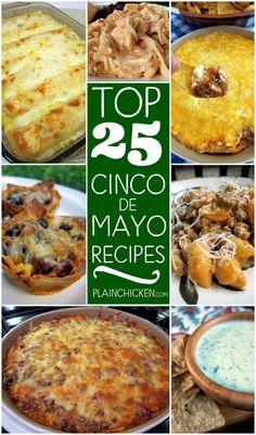 Top 25 Cinco de Mayo Recipes
