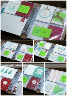 December Daily using Project Life by Stampin' Up! GIVEAWAY!!
