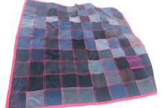 Recycled Corduroy Blanket Corduroy Quilt by Crispinaffrench