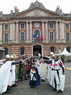Los templarios de Monzón en Toulouse.