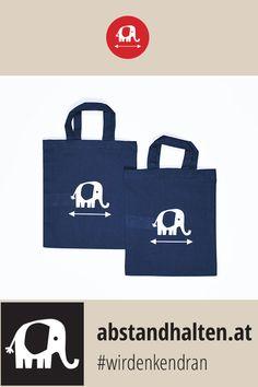 Ob in den Kindergarten, zur Schule, zum Sport, zur Musikstunde oder zu Freunden auf Besuch: Die Kinder-Stofftasche mit Babyelefant PRIM ist der ideale Begleiter für unterwegs. Damit weisen auch schon die Kleinsten freundlich auf den Sicherheitsabstand hin und schützen so sich und ihre Mitmenschen. #wirdenkendran #babyelefant #elefant #abstandhalten #covid19 #kinder #schulstart # backtoschool #stofftasche #accessoire Baby Elefant, Freundlich, Kindergarten, Sport, Fashion, Accessories, School, Studying, Bags