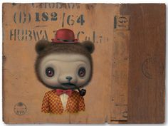 "New artwork by Mark Ryden. It will be featured in the group show ""Small Indignities"", which will open at Red Truck Gallery in New Orleans on September 13. (More info HERE)."