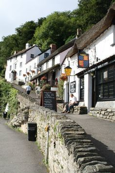 Awww first night of our 1 of 3 honeymoons here.The Rising Sun Inn in Lynmouth where John and Grace Boyle were landlord and landlady around 1860 Somerset England, Devon England, Cornwall England, England And Scotland, Devon Coast, Devon Uk, North Devon, Great Places, Places To Go