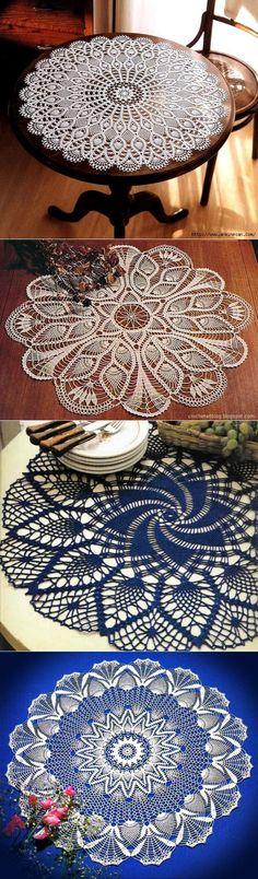 Crochet Lace Doilies