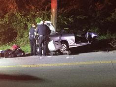 OPD: Fleeing suspect crashes car into utility pole