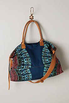 Falling Leaves Weekender - anthropologie.com