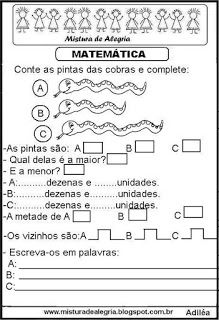 Matemática Notebook, Bullet Journal, Nova, Pasta, Kids, Learning Activities, Literacy Activities, Alphabet, Tens And Units