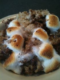 Mom Getting Fit: Baked S'mores Oatmeal