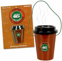 Coffee car freshener ;)