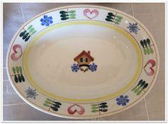 Arabia Pirtti Mökki. My favourite porcelain in the world.