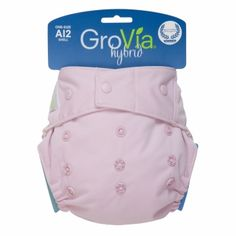 Harper wears these! GroVia Hybrid Cloth Diapers