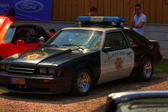 Ford Mustang Police Car | 6096116100_3569066a4a_z.jpg