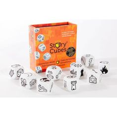 Rory's Story Cubes Original - you can get these in a lot of places and they are suitable for all sorts of people, this link goes to BrightMinds - an excellent place to find gifts for children.