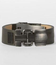 13ff412f6d2 Rugged look Diesel shield cuff Diy Wrist Wallet