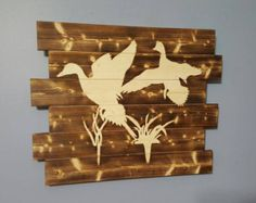 Ducks Coming In Duck Hunting Waterfowl by UpstatePalletDesigns