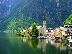 Hallstatt, Austria: 世界遺産の町 - ハルシュタット