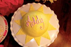 You Are My Sunshine Birthday Party Ideas | Photo 40 of 79 | Catch My Party