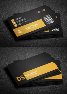 Double Side Free Business Card Template #businesscard #visitingcard…