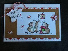 Kerstkaart  /eigen creaties
