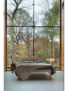 Slaapkamer in herfstkleuren