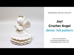 This post includes a wide range of free crochet tea cozy pattern options, for different sizes of tea pots. Beginner friendly pattern options have been included, as well as, patterns with video tutorials. Crochet Angel Pattern, Crochet Angels, Crochet Cardigan Pattern, Afghan Patterns, Crochet Stitches Patterns, Stitch Patterns, Crochet Christmas Ornaments, Christmas Angels, Christmas Things
