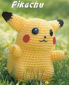Amigurumi Pikachu Patron En Espanol : 1000+ images about pokemon on Pinterest Free amigurumi ...