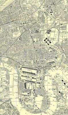 "Poplar Borough Council's 1952 ""Folding Plan of Poplar"""