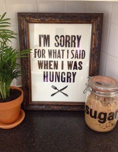 """I need this for my house! If you know me... you know I can get quite """"crazy"""" when I am hungry..."""
